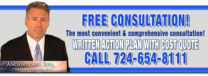 Free consultation: 724-654-8111